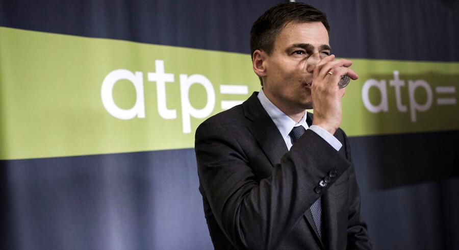 Topchefen hos ATP, Carsten Stendevad.
