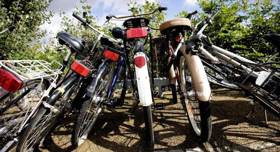 Kun ganske få cykeltyverier bliver opklaret.