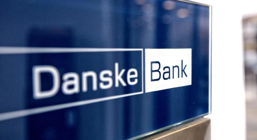 Det er et ganske pænt regnskab, som Danske Bank fredag morgen har offentliggjort, selvom der tydeligvis stadig er pres på toplinjen. (Foto: Jens Nørgaard Larsen/Scanpix 2016)