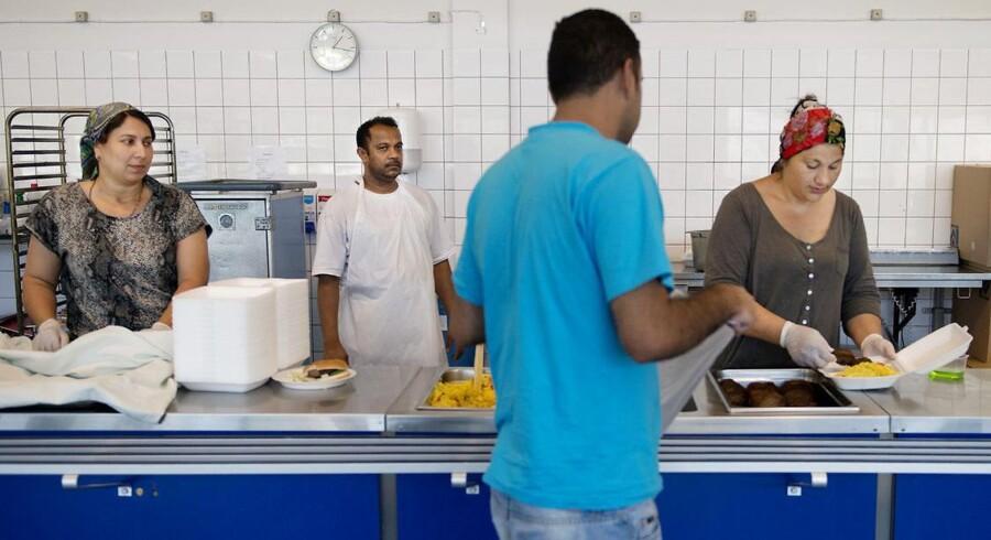 I oktober måned er der foreløbigt kommet 744 syriske asylansøgere til Danmark. Det er mere end en halvering på bare en måned.