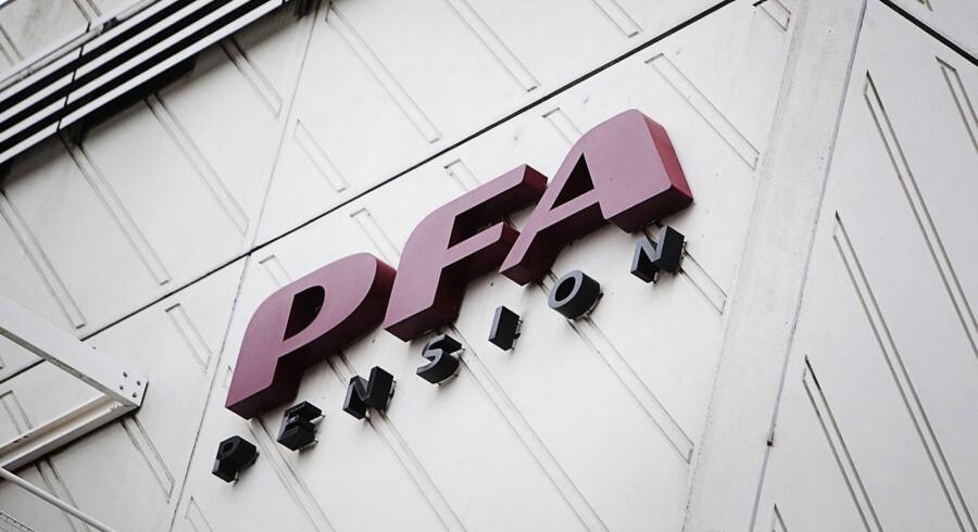 PFA Pensinos hovedsæde ved Nordhavn i København.