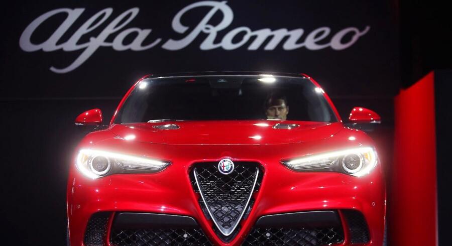 Alfa Romeos 2018 Stelvio SUV.