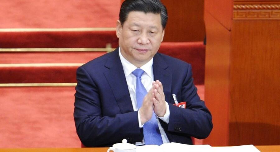 Arkivfoto. Den kinesiske præsident Xi Jinping.