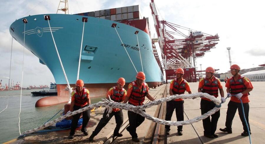 Hvad der engang var utænkeligt er sket for A.P. Møller-Mærsk. Virksomheden er blevet belønnet for at være åbne.