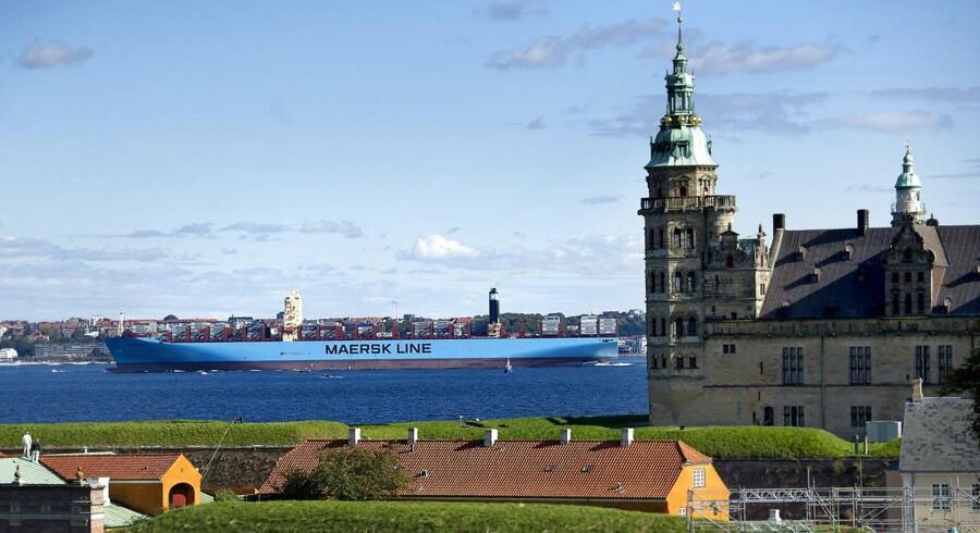 En af de Triple-E-skibe, Majestic Mærsk, som er verdens største containerskibe. Nu bestiller Mærsk flere.
