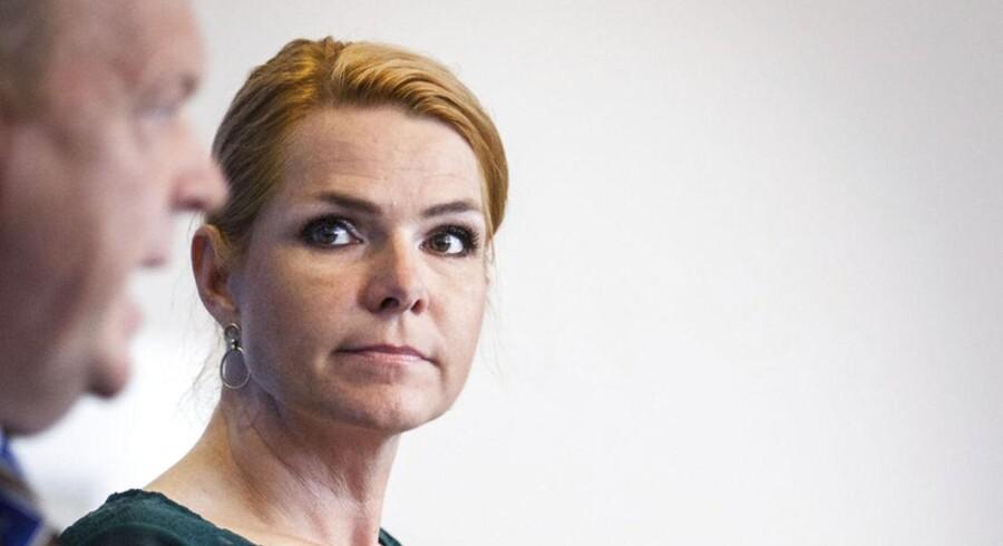 Arkivfoto. Partiets politiske ordfører Inger Støjberg (V) understreger, at oppositionspartiet abonnerer på den opfattelse, at valgkampen er skudt i gang.