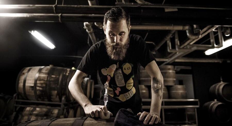 Mikkel Borg Bjergsø er ejer og stifter af bryggeriet Mikkeller.