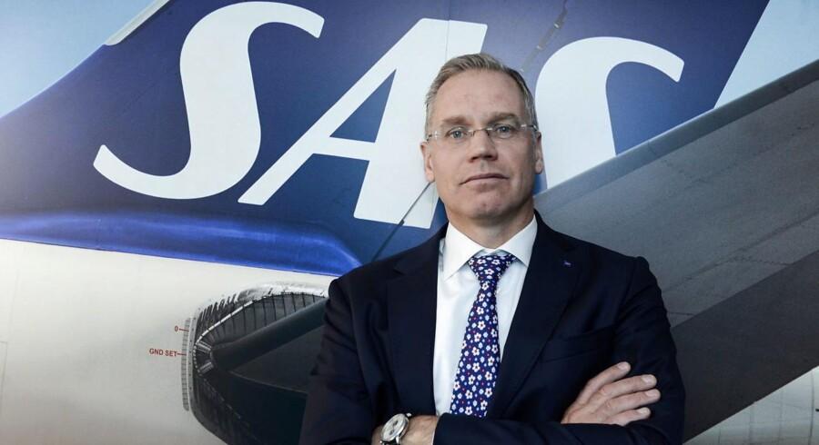 Topchef i SAS, Rickard Gustafson, siger, at de norske piloters potentielle strejke skader SAS langsigtet.