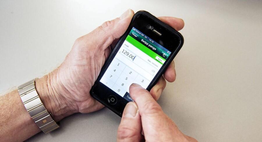 Swipp hæver den daglige beløbsgrænse fra 10.000 til 25.000 kroner