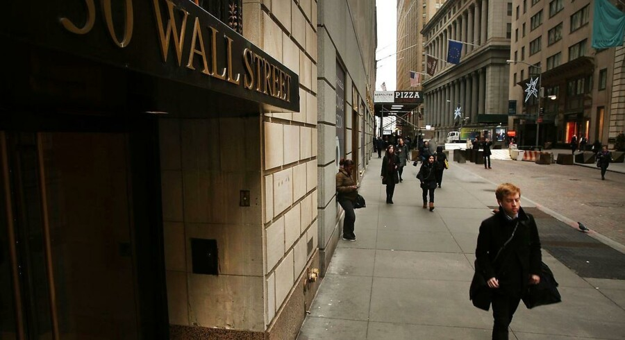 Wall Street i New York.