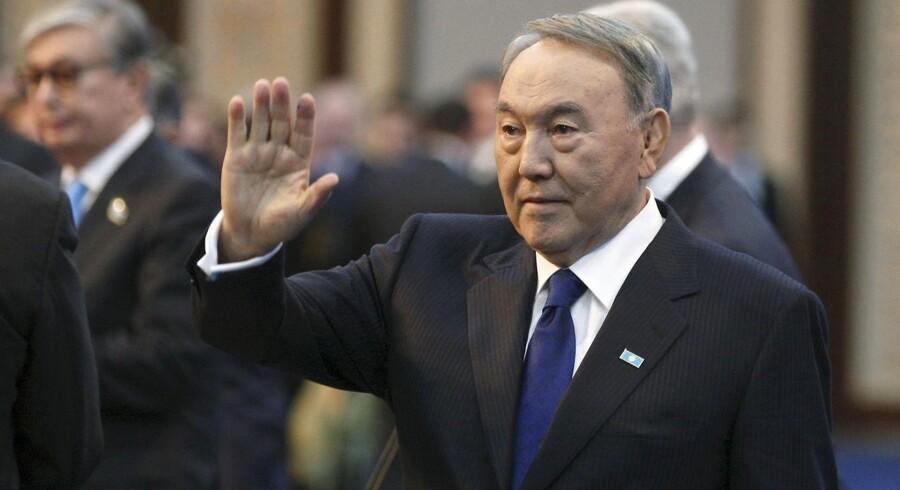Kasakhstans præsident Nursultan Nazarbayev