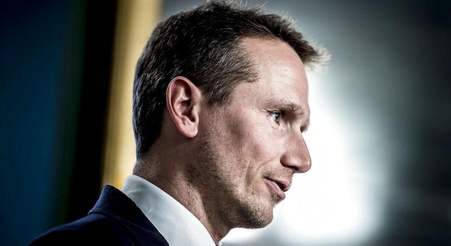 Finansminister Kristian Jensen (V) aflyver nu ambitionerne om nulvækst i det offentlige.