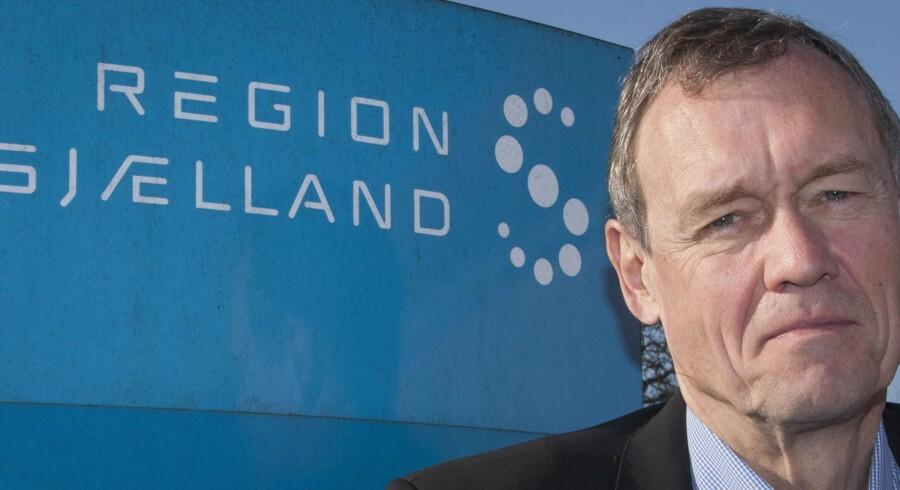 Region Sjællands øverste direktør, Jens Andersen, er blevet fyret af et politisk flertal i regionsrådet. Fyringen kommer i kølvandet på en ny rapport fra PwC, der kritiserer ledelsens manglende tilsyn med regionens bedrageribeskyldte IT-afdeling.Arkivfoto: Finn John Carlsson