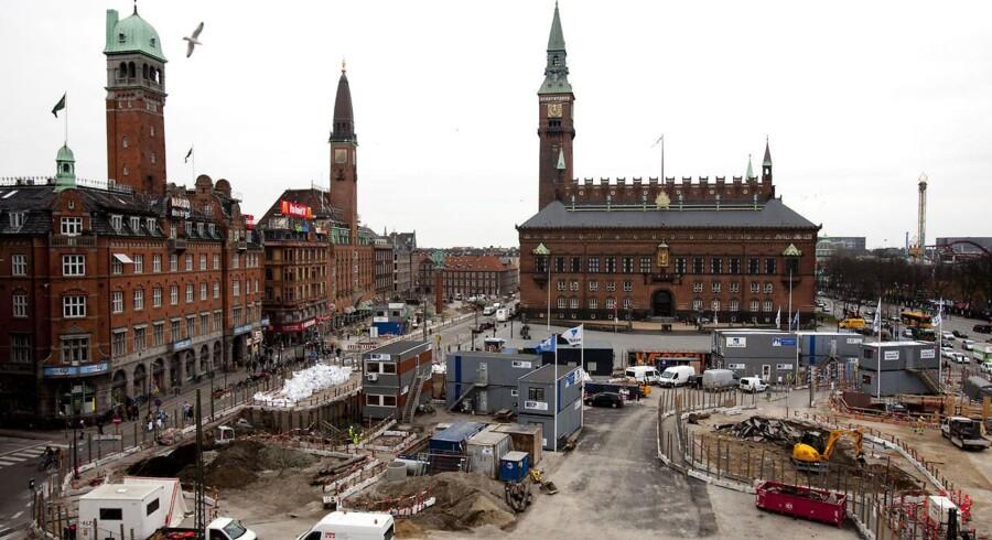 Den københavnske metro udbygges for timelønninger ned til 64 kroner.