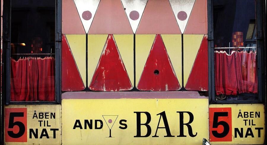 Andys Bar i Gothersgade.