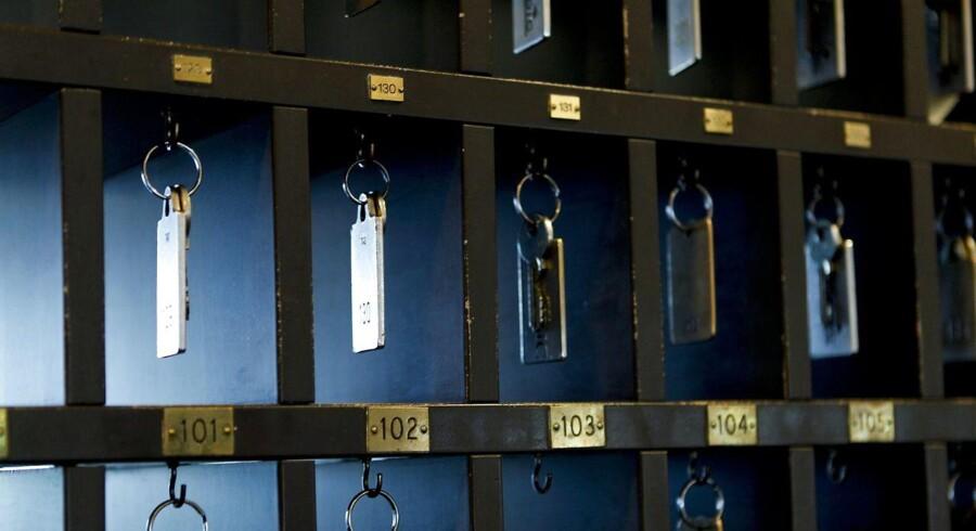 Der er rift om nøglerne til hotelværelserne rundt omkring i Danmark.