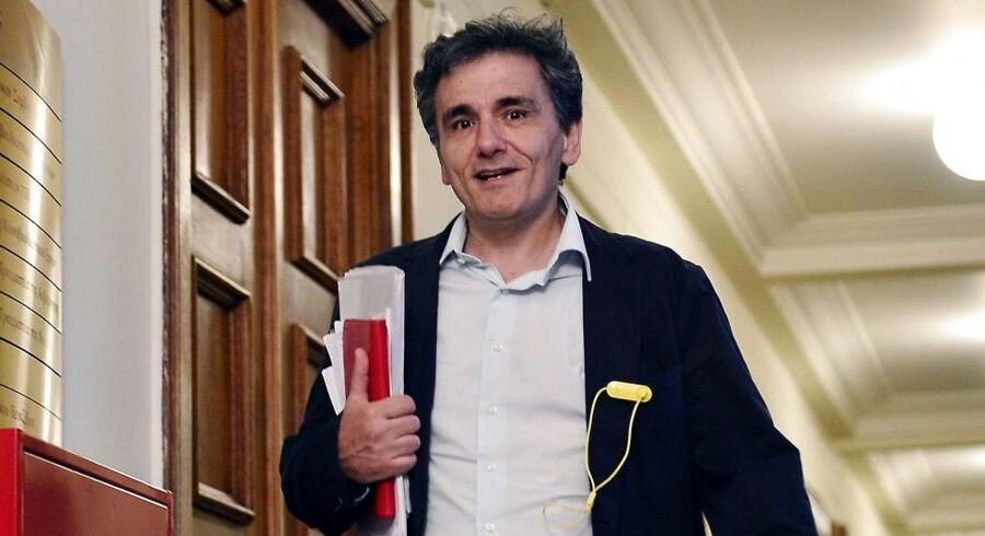 Euclid Tsakalotos er ny græsk finansminister