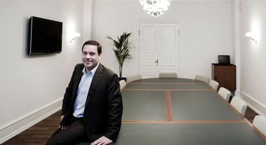 Jan Johan Kühl, Managing Partner hos Polaris, har sikret sig opbakning til overtagelsen af Mols-Linien fra en unavngiven, men »respekteret« erhvervsmand.