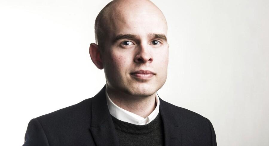 Erhvervsjournalist, Michael Korsgaard.