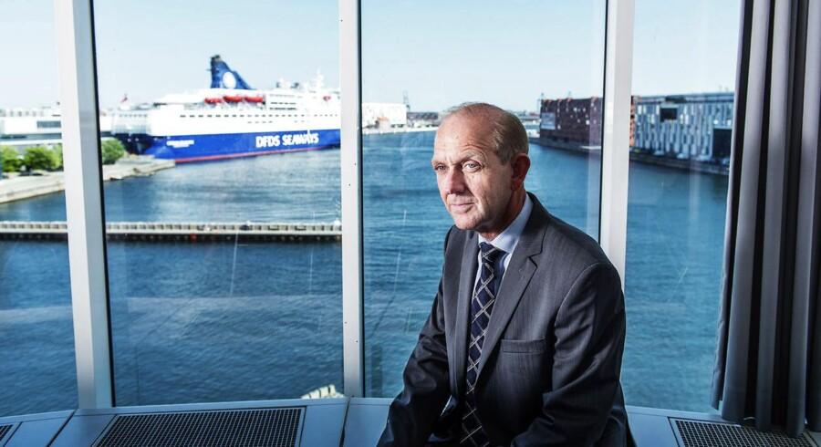 Søren Boe Mortensen, administrerende direktør for Alm. Brand, fortæller at selskabet onsdag morgen har kunnet glæde aktionærerne med stor fremgang i indtjeningen, en opjustering og et aktietilbagekøbsprogram på op til 300 mio. kr..