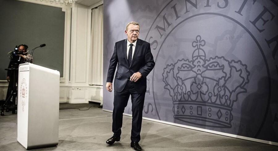 Venstre og Lars Løkke Rasmussens mantra har, siden man kom til magten, været, at det skal kunne betale sig at arbejde. Arkivfoto: Simon Læssøe
