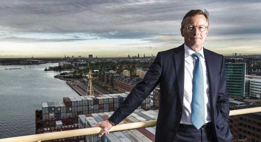 Nils Smedegaard Andersen administrerende direktør for i A.P. Møller - Mærsk har netop afleveret et af koncernens mest ventede kvartalsregnskaber i et stærkt presset marked.