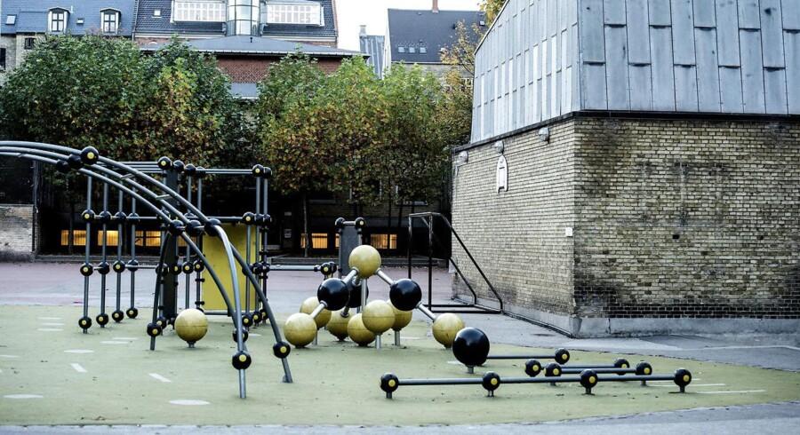 Overfaldet skete her på Ny Hollænderskolen på Frederiksberg.