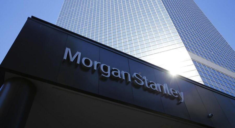 Den amerikanske storbank Morgan Stanley kom ud af første kvartal 2016 med en indtjening, der var bedre end ventet.
