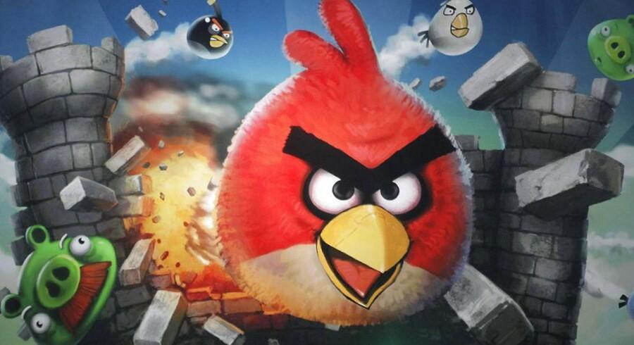 Det populære spil Angry Birds samarbejder i den nyeste version med NASA.