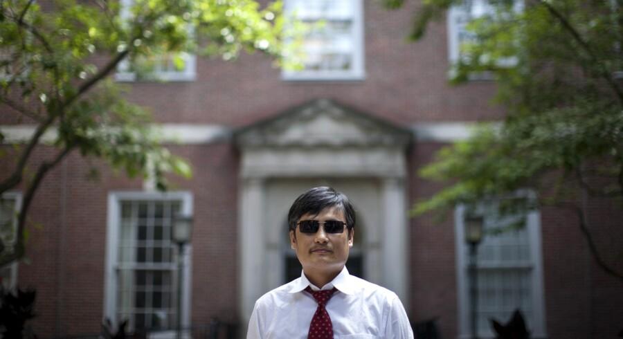 Chen Guangcheng er i dag kendt som en af de mest ihærdige kritikere af den kinesiske ledelse og Kinas Kommunistparti.