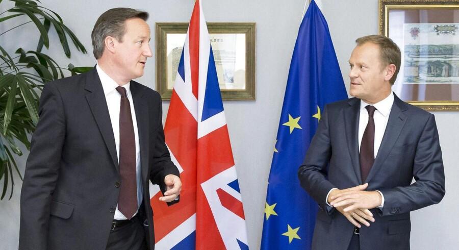 Udspillet fra Donald Tusk, der kommer efter intense forhandlinger med den britiske premierminister, David Cameron, skal diskuteres på et EU-topmøde 18. og 19. februar i Bruxelles.