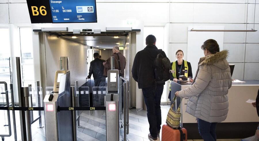 Københavns Lufthavn, SAS , fly, personale.