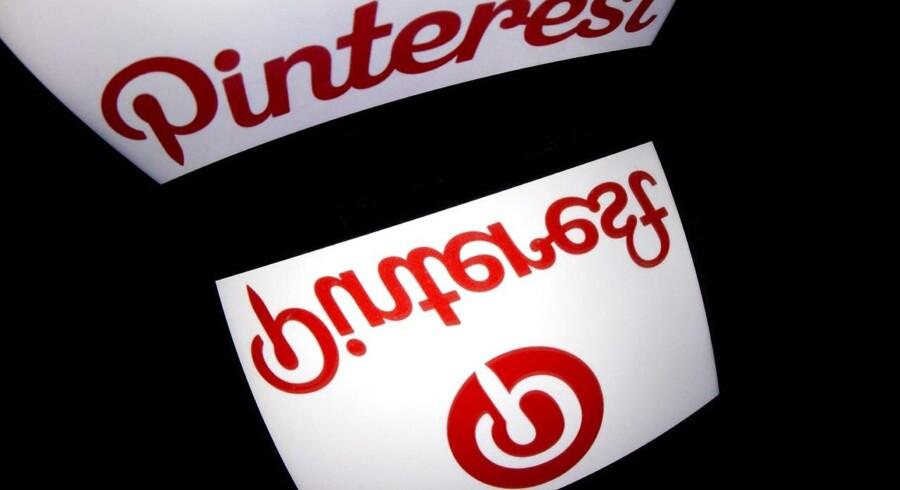 Pinterest, som er et socialt medie til deling af billeder og filmklip, har vundet retten til sit eget navn i en dansk netadresse. Arkivfoto: Lionel Bonaventure, AFP/Scanpix