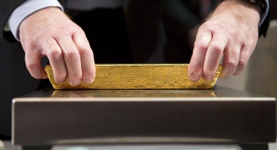 Guldprisen er raslet ned den seneste tid.