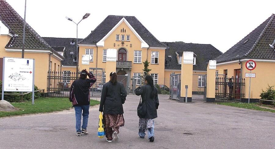 ARKIVFOTO fra asylcenter Sandholmlejren.