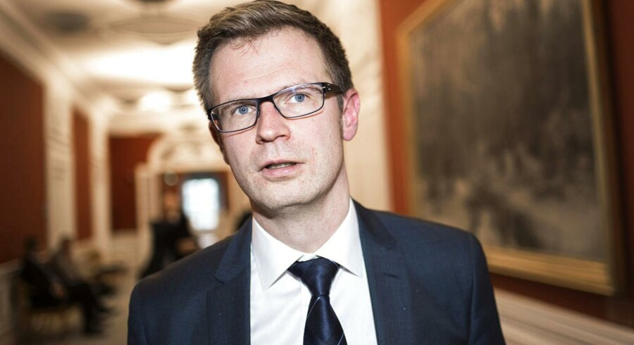 Skatteminister Benny Engelbrecht (S).