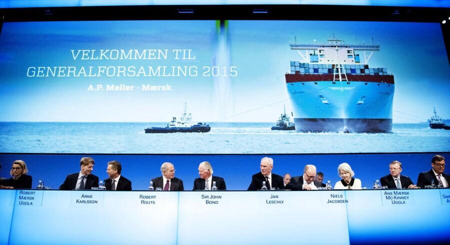 A.P. Møller-Mærsk-bestyrelsen til generalforsamling 2015.