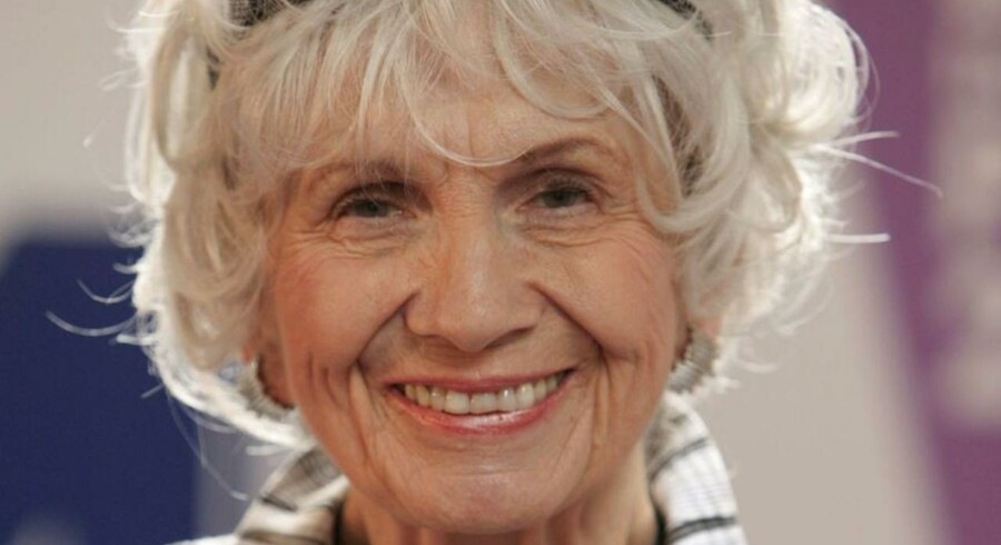 Canadiske Alice Munro modtager i år Nobelprisen i litteratur.