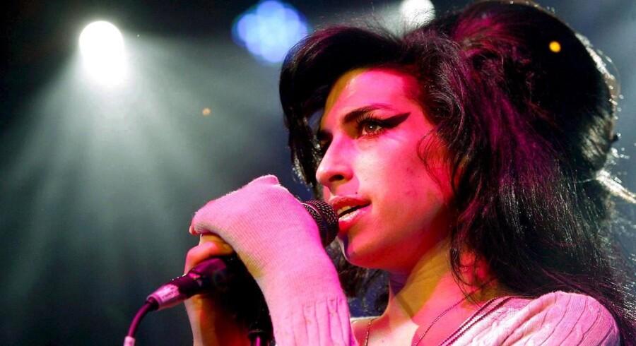 Amy Winehouse - gribende portræt af hende i filmen »Amy«.