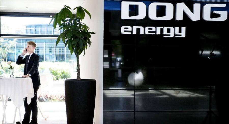 Udbudskursen værdisætter DONG til 98,2 mia. kr., som med den efterfølgende kursudvikling er steget til 108 mia. kr.