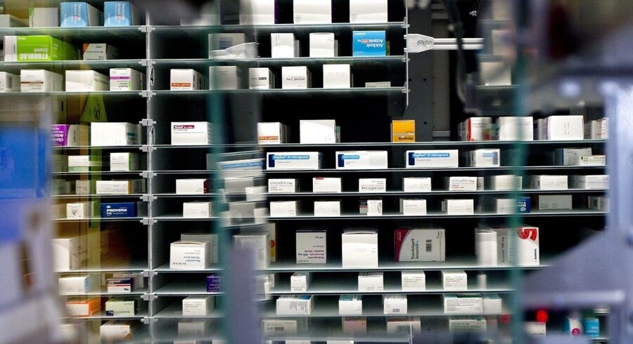 ARKIVFOTO. 99 procent af alle ældre på københavnske plejehjem får forkert medicin, viser en ny undersøgelse.