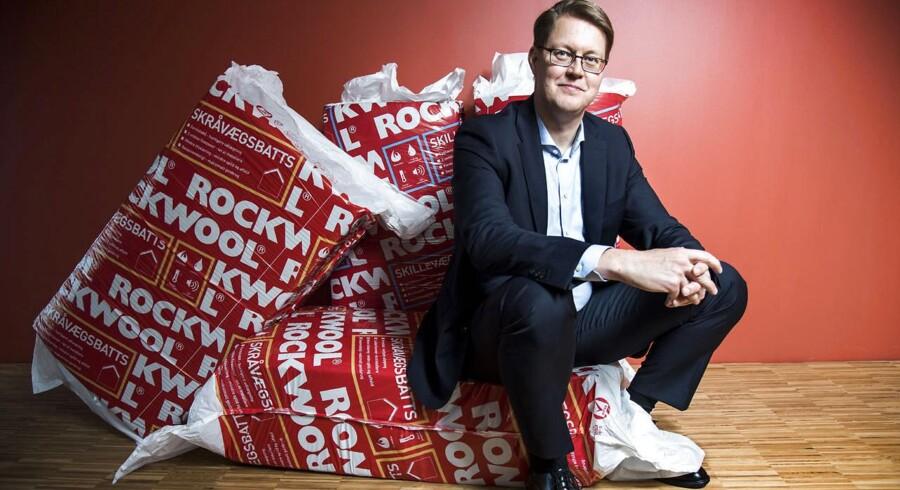 Rockwool mener, at klimaaftalen, som blev indgået ved COP21, kan have positive effekter fremover. Her ses Rockwools direktør Jens Birgersson.