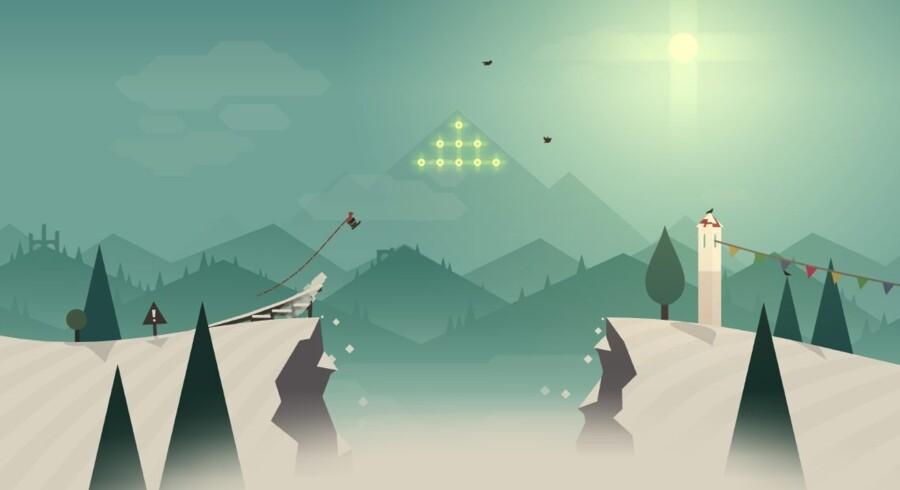 »Alto's Adventure« er at af mange gode spil, der også kan nydes af voksne på iPaden.
