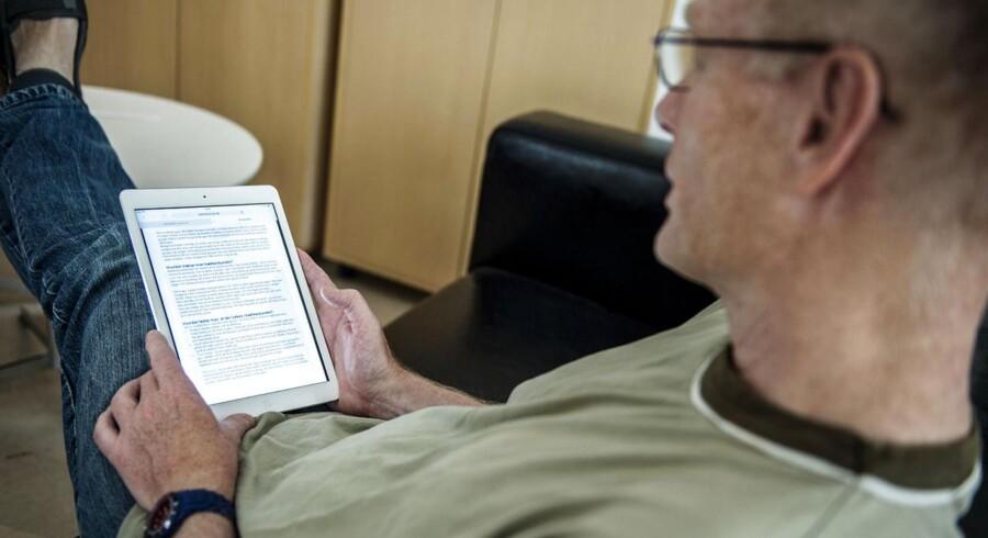 E-bogslæsere har mistet attraktionsværdien.