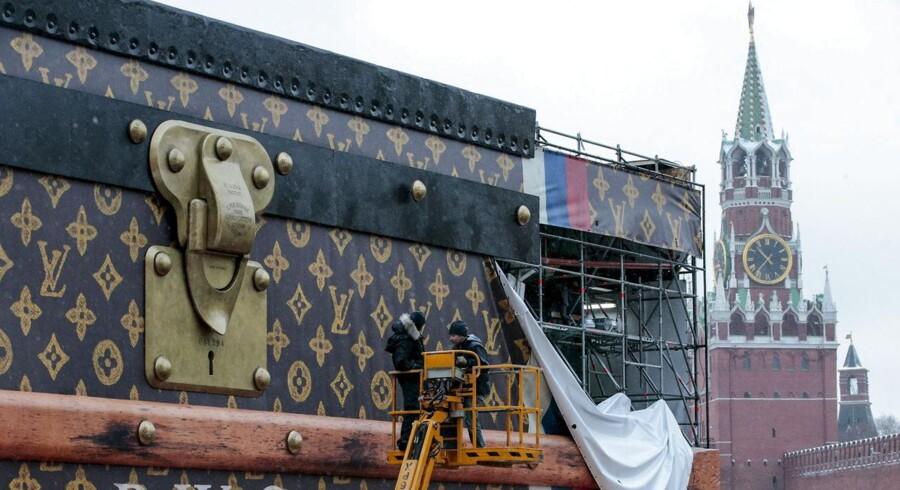 Louis Vuitton-pavilion i Moskva