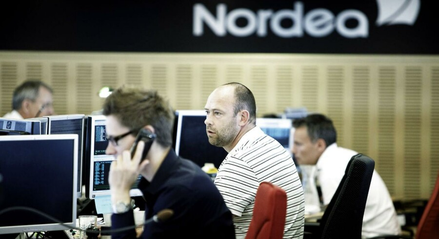 Aktiehandel hos Nordea.