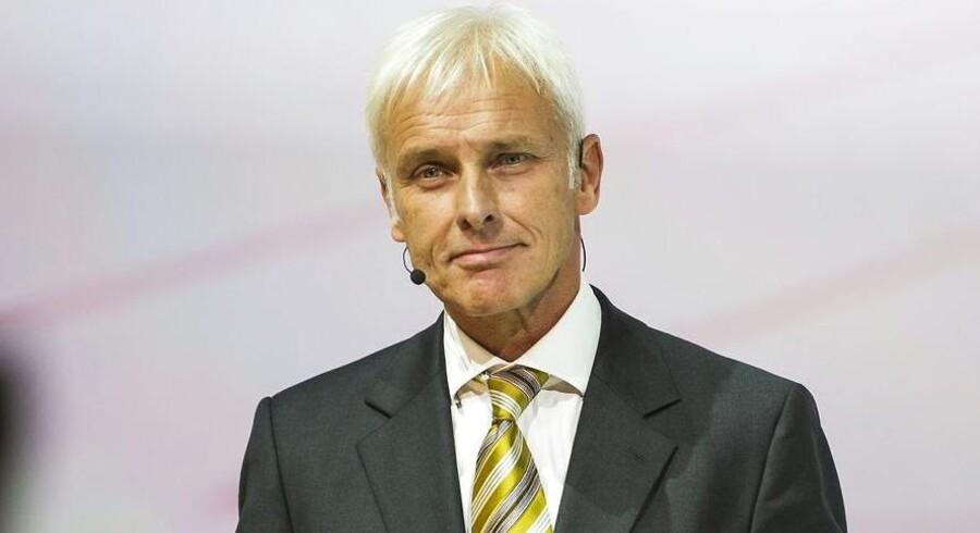 Volkswagens koncernchef Matthias Müller