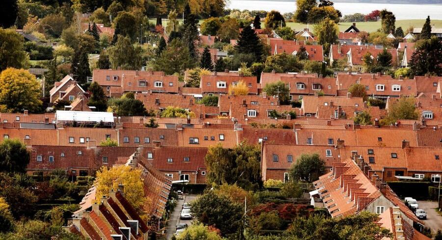 ARKIVFOTO 2013 af boligområde på Lyngby/Sorgenfri.