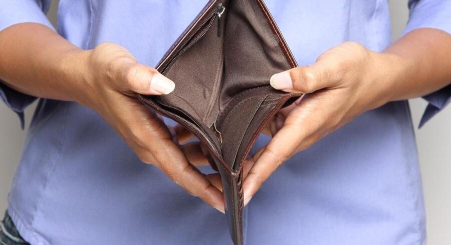 Antallet af dårlige betalere er nemlig faldet for første gang siden den økonomiske krise for alvor tog fart tilbage i 2008.