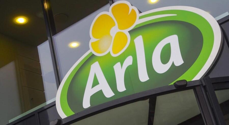 Arla's hovedkvarter i Viby J, hvor pengene altså fortsætter med at rulle ind i 2014 (Foto: Kim Haugaard/Scanpix 2014)